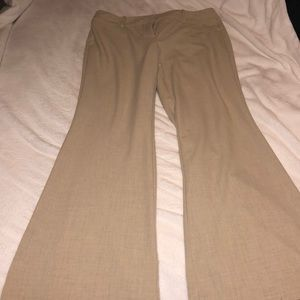 Women's Tan New York & Company Dress Pants